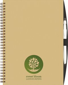 US Made Promotional Product: Imprinted Eco Journal Book