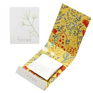 Thyme Seed Matchbook