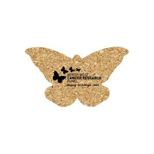 Butterfly Cork Coaster 4BT