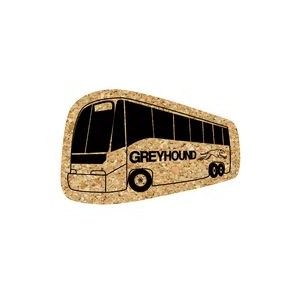 Bus Cork Coaster