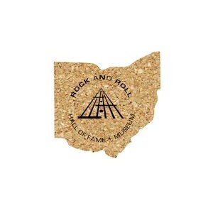 Ohio Cork Coaster