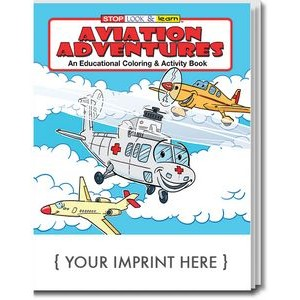 Aviation Adventures Coloring and Activity Book
