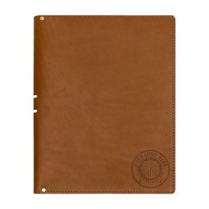 "Leather Portfolio - Holds 8.5"" x 11"" Notepad - Handmade"