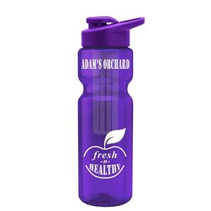 28 oz. Bottle with Small Infuser & Snap Lid