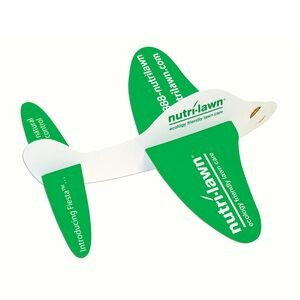 Military Plane Paper Airplane (Sturdy Board Stock)