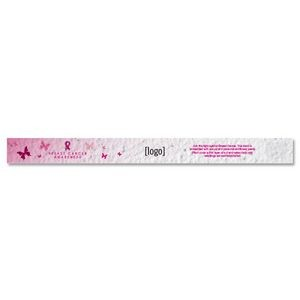Seed Paper Breast Cancer Awareness Wristband