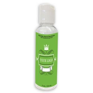 2 Oz. Hand Sanitizer Gel Bottle
